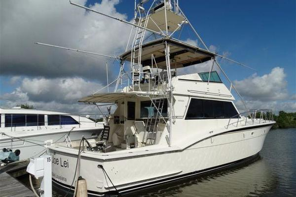 55' Hatteras Convertible 1985 | Lyn Joe Lei
