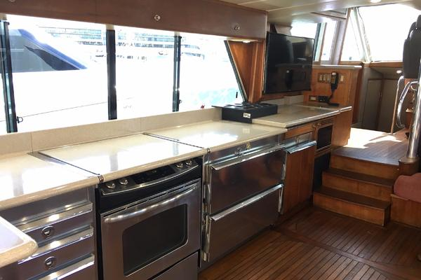 1990 Douglas 76' Yachtfisher Yacht Fisher GLADIATOR | Picture 4 of 89