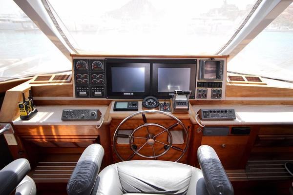 1990 Douglas 76' Yachtfisher Yacht Fisher GLADIATOR | Picture 8 of 89