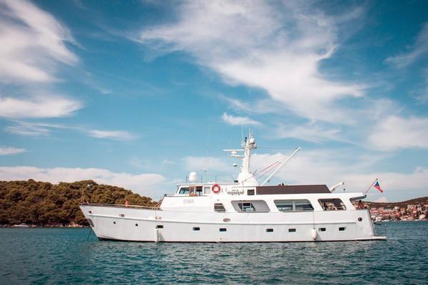 88' Torpoint Steel Boats Motor Yacht 1985 | Eva