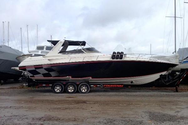 Fountain 38' 38 Express Cruiser 2008