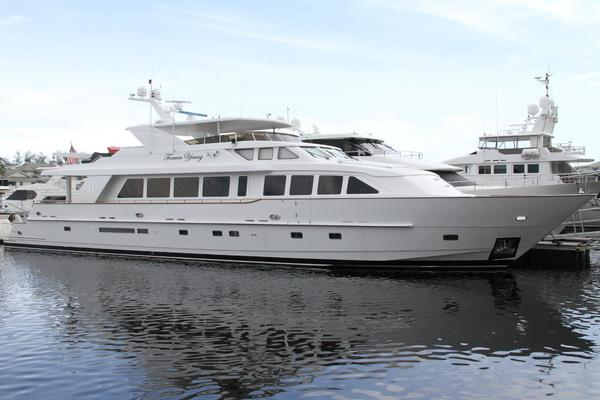 2003 Hargrave 124 ft Raised Pilothouse - Forever Young
