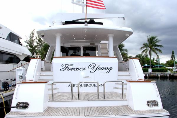 2003 Hargrave 125 ft Raised Pilothouse - Forever Young