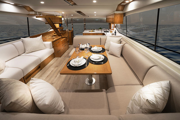 2021Riviera 54 ft 52 Enclosed Flybridge with IPS