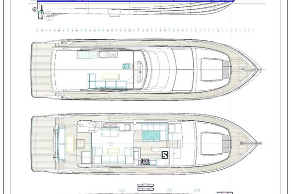 2021 Johnson 70' Flybridge Motor Yacht JOHNSON 70 FLYBRIDGE | Picture 3 of 11