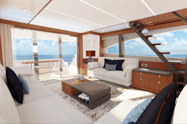 Picture Of: 70' Johnson Flybridge Motor Yacht 2021 Yacht For Sale | 2 of 11