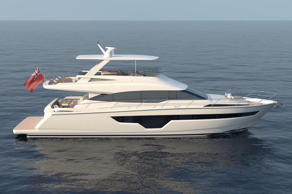 70' Johnson Flybridge Motor Yacht 2021 | Johnson 70 Flybridge