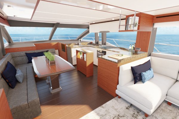 Picture Of: 70' Johnson Flybridge Motor Yacht 2021 Yacht For Sale | 3 of 11