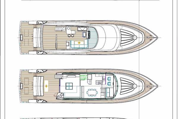 2020Johnson 83 ft Flybridge w Fishing Cockpit