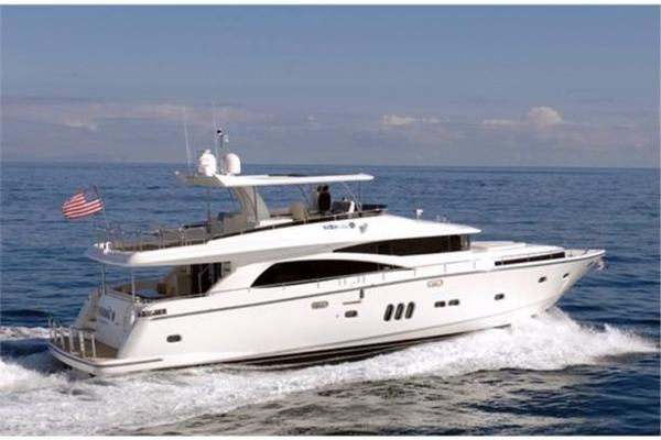 83' Johnson Flybridge W/hydraulic Platform 2020 |