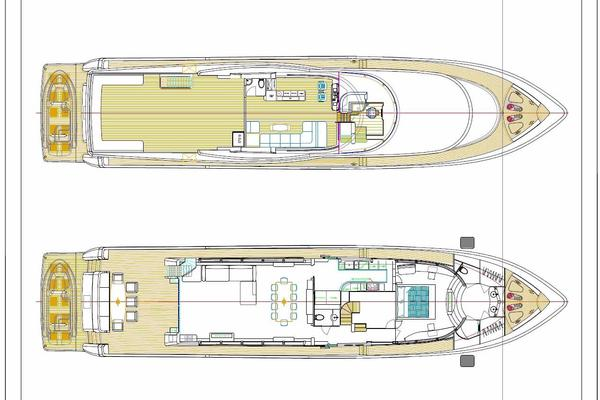 2021 Johnson 110' 110' Skylounge w/On-Deck Master Johnson 110 | Picture 7 of 23