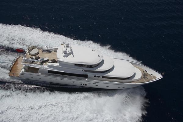 2021Johnson 110 ft 110  Flybridge w On Deck Master
