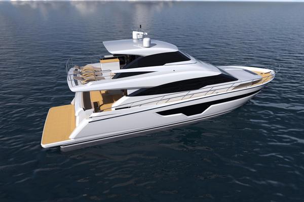 2020 Johnson 70' Skylounge Motor Yacht JOHNSON 70 SKYLOUNGE | Picture 8 of 19