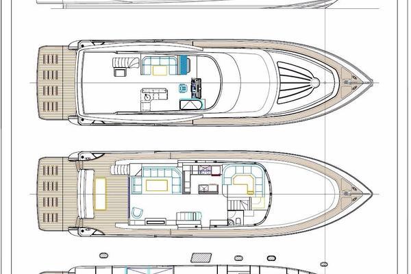 2021 Johnson 80' Flybridge w/Fishing Cockpit  | Picture 5 of 13