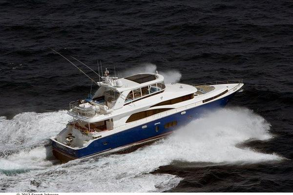 80' Johnson Flybridge W/fishing Cockpit 2020 | Johnson 80' Flybridge M/y