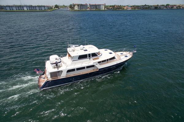 Picture Of: 70' Marlow 70 Explorer Command Bridge 2008 Yacht For Sale | 3 of 67