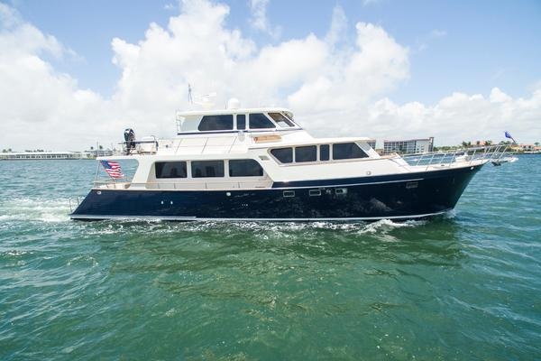 70' Marlow 70 Explorer Command Bridge 2008 | Blue Heron