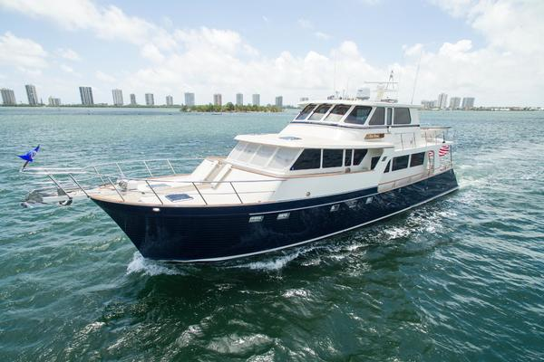 Picture Of: 70' Marlow 70 Explorer Command Bridge 2008 Yacht For Sale | 2 of 67