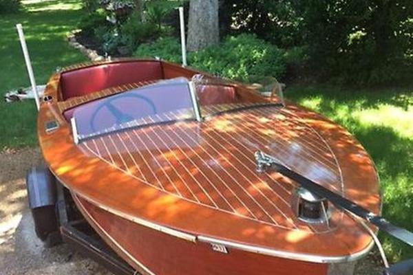 17' Chris-Craft Special Runabout 1951 | Katharine