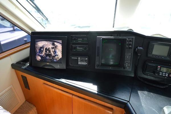 1997Viking 58 ft 58 Enclosed Bridge Convertible   Warrior