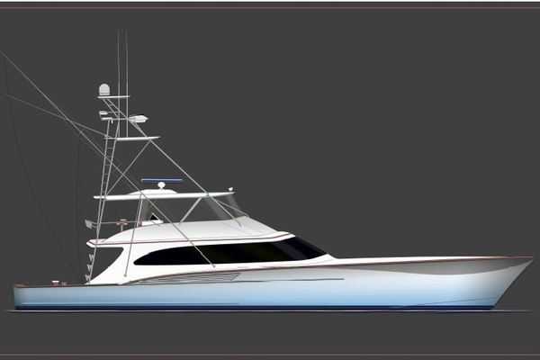 84' Jarrett Bay Custom Carolina Convertible 2019 | Hull #60