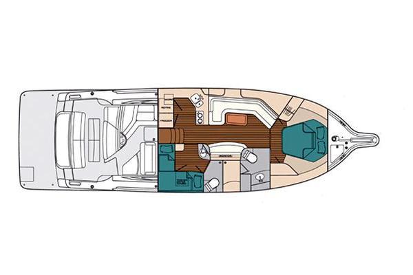 2005Tiara 44 ft 4400 Sovran