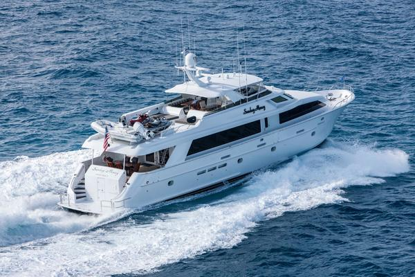 100' Hatteras 100 Motor Yacht 2001 | Sunday Money