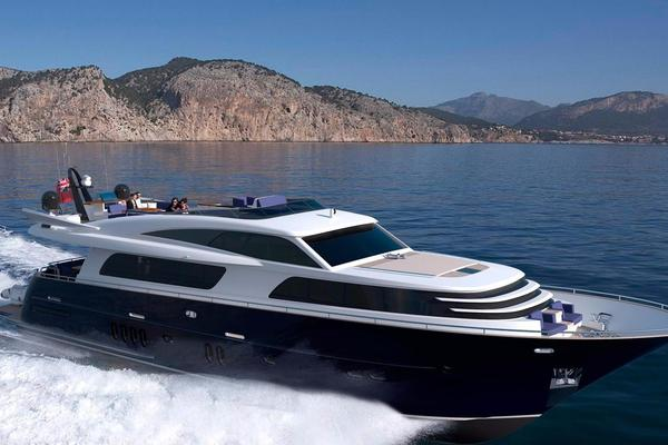 Van Der Valk 90' 26m Raised Pilothouse 2016