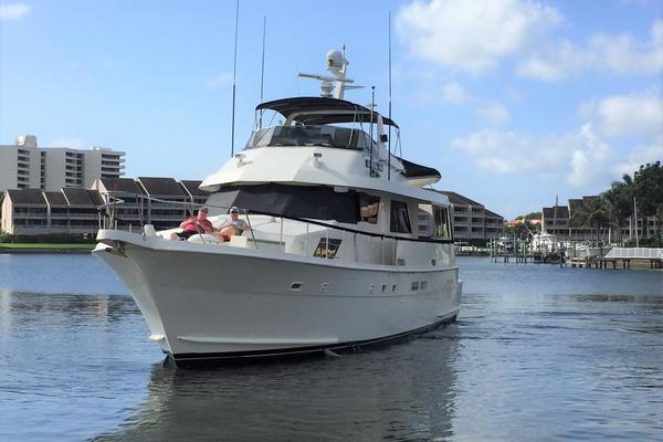 Picture Of: 67' Hatteras 67 Cockpit Motor Yacht 1988 Yacht For Sale | 4 of 46