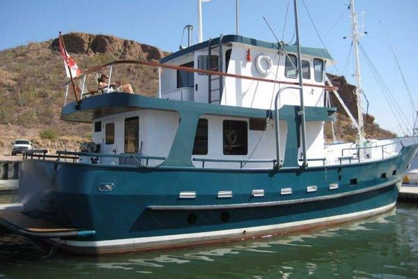 58' Custom North Sea Trawler 1996 | Banshee