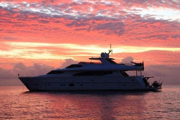 2011 Horizon 97' 97 Motoryacht with Raised Pilothouse and Skylounge EnCore | Picture 6 of 24