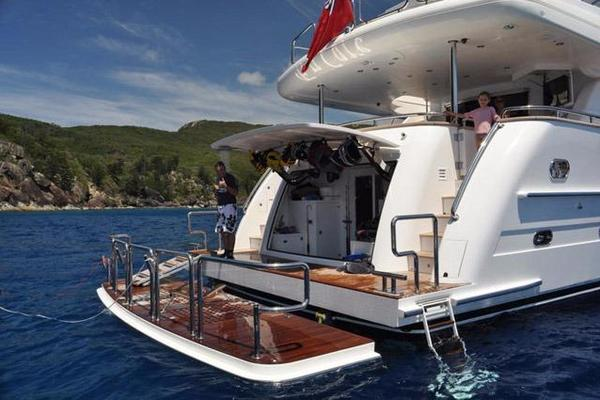 2011 Horizon 97' 97 Motoryacht with Raised Pilothouse and Skylounge EnCore | Picture 1 of 24