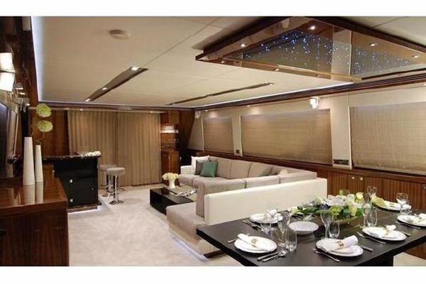 2011 Horizon 97' 97 Motoryacht with Raised Pilothouse and Skylounge EnCore | Picture 8 of 24