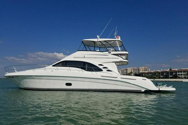55' Sea Ray 550 Sedan Bridge 2005 | March Madness