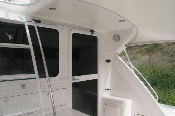 Cockpit Door to Main Salon