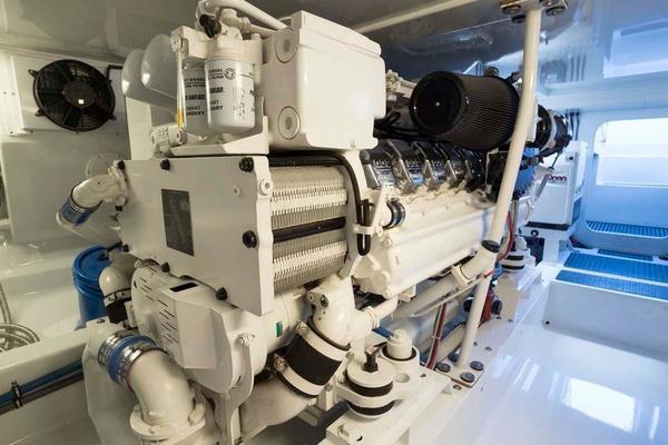 Stbd MTU Engine