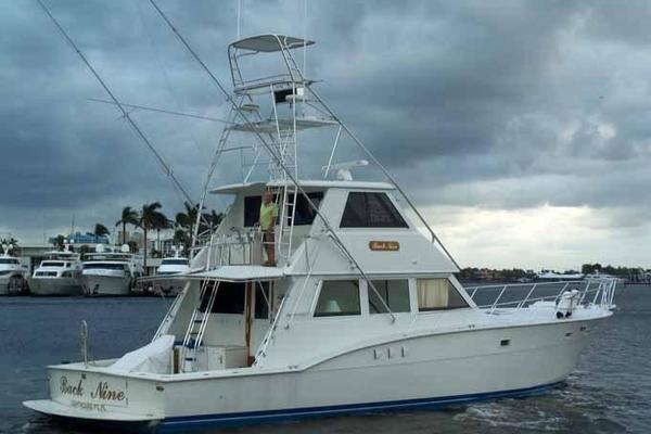 1979Hatteras 60 ft Convertible Enclosed FB   BACK NINE