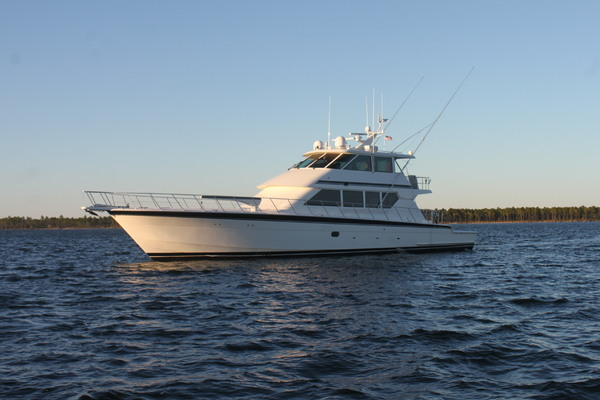 1993Hatteras 82 ft Convertible   TITAN