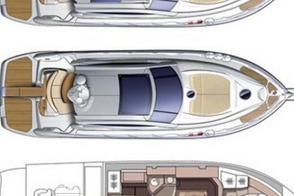 2011Cranchi 43 ft 43 HT Hard Top