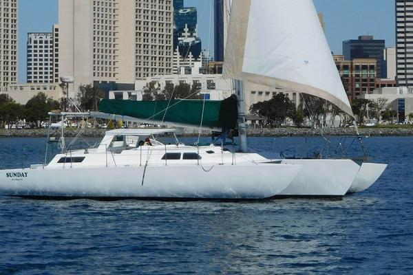 42' Norman Cross Trimaran 1974 | Sunday