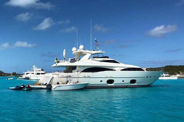 97' Ferretti Yachts 97 Custom Line 2008 | The Capital