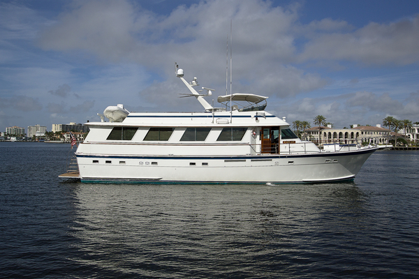 72' Hatteras 4788 Pilot House Motoryacht 1991 | YIA SOU II