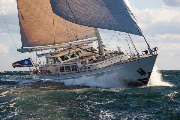 123' Palmer Johnson Custom Offshore Ketch 1989 | GALILEO