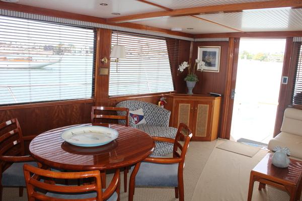 1984Vic Franck 60 ft Custom Pilothouse Motoryacht   VINTAGE