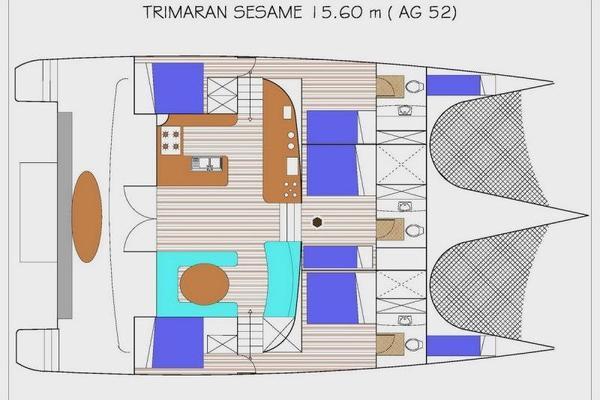2012 Crestliner 52' AG 52 SESAME   Picture 1 of 44