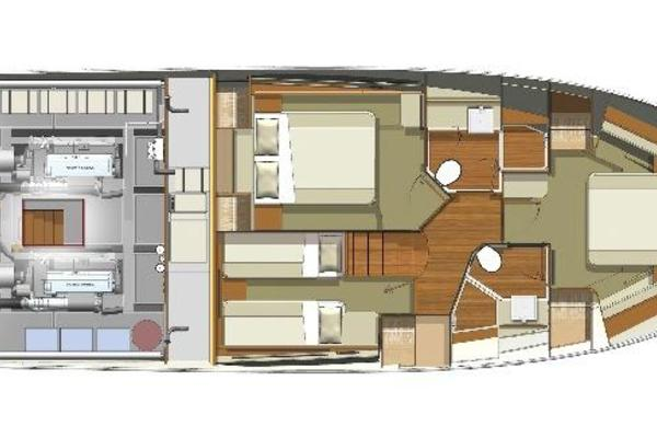 2019 Riviera 52' ENCLOSED FLYBRIDGE- ON ORDER!    Picture 7 of 40