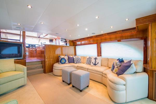 2008 Hatteras 64' 64 Motor Yacht LONE STAR  reserved | Picture 7 of 82