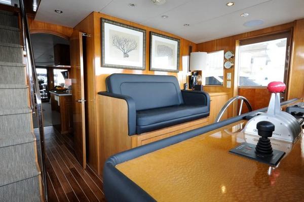 2002Hatteras 75 ft Motor Yacht   ISLAND GIRL