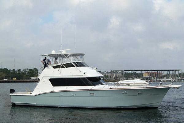 52' Hatteras 52 Convertible 1987 | Make Room