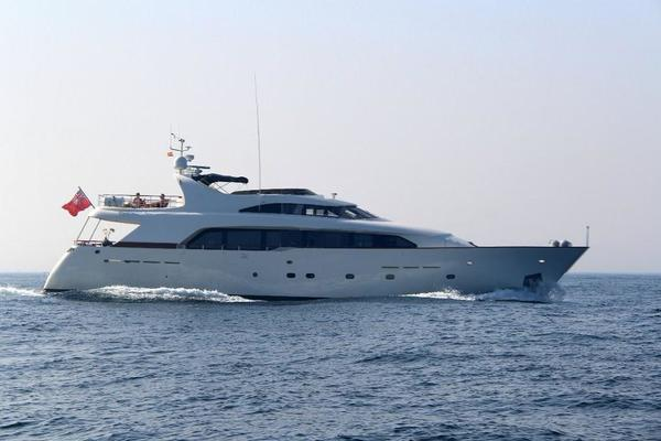 90' Bugari Motor Yacht 1998 | GREY PRINCESS